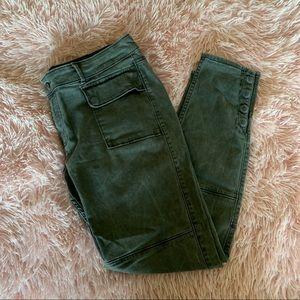 A& F Grey Cargo Pants